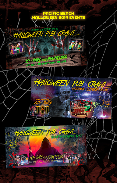 Pacific Beach Halloween Events